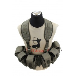 Nonmodular Split Front Chest Rig