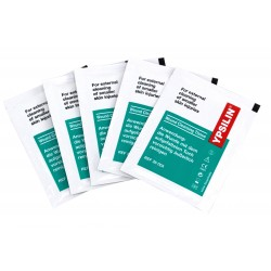 Wound cleansing wipes