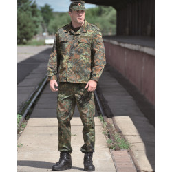 BW field trousers heavy camouflage