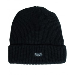 KNITTED CAP THINSULATE TM BLACK