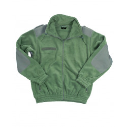 FLEECE OLIVE COLD PROTECTION JACKET