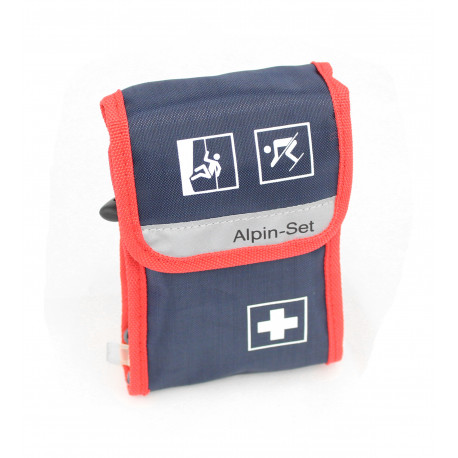 Velo® Bicycle First Aid Bag , blue/red