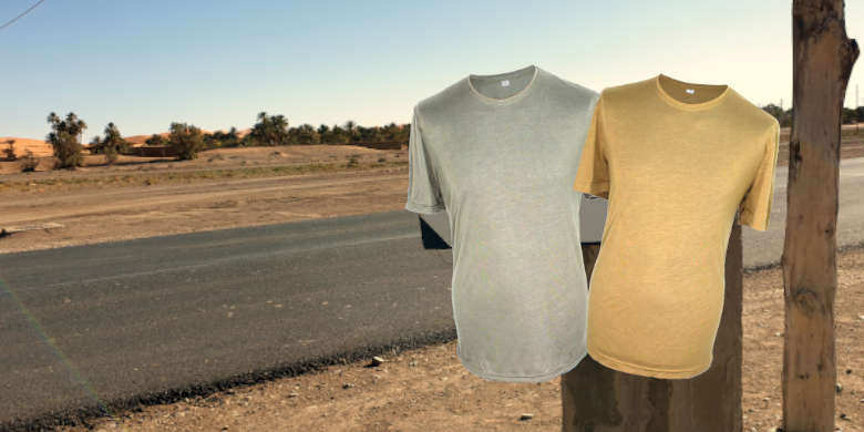 Army functional T-Shirt made of Lyocell